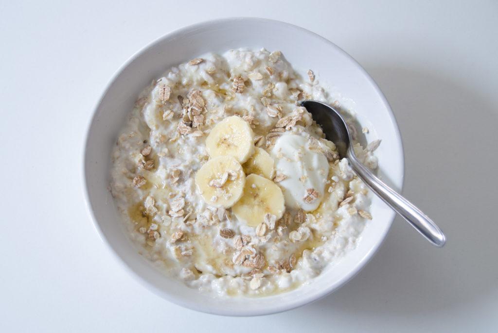 Bananen-Müsli