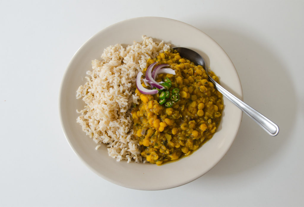 Indisches Chana Dal