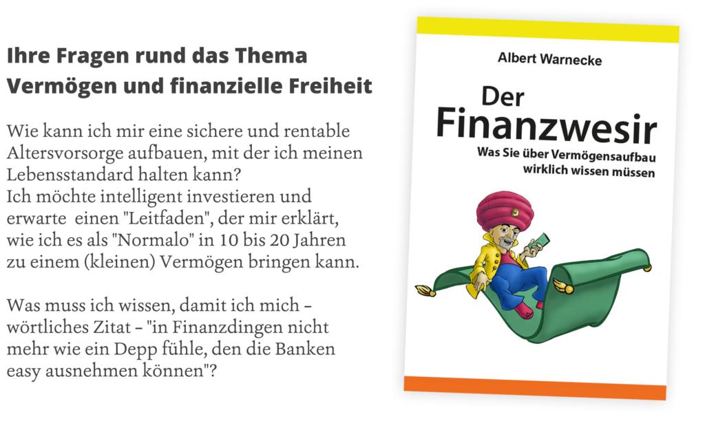 Albert Warnecke - Finanzwesir Buch