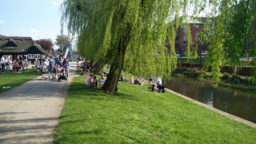 Stafford Victoria Park Flussufer