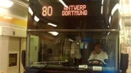 Der Flixbus im Eurotunnel