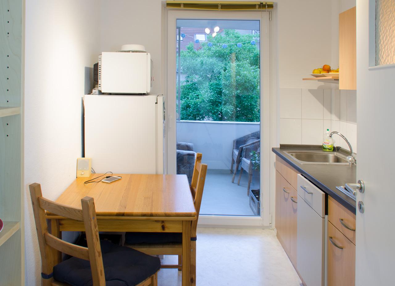 Faszinierend Minimalistisch Wohnen Vorher Nachher Referenz Von Günstige Wohnung Hannover Küche 2