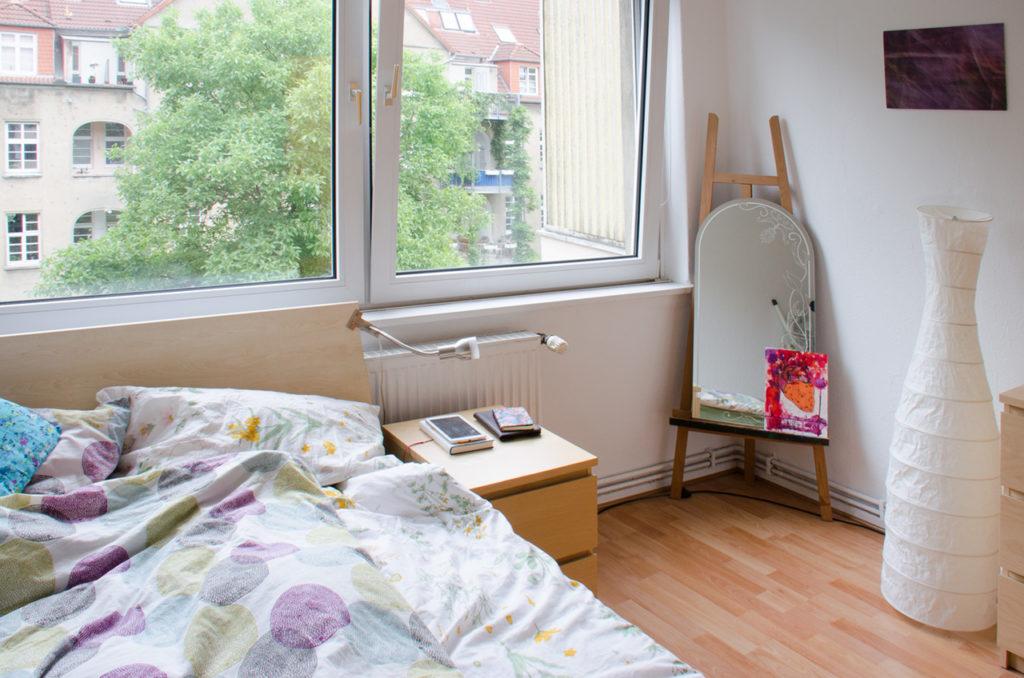 Günstige Wohnung Hannover Schlafzimmer