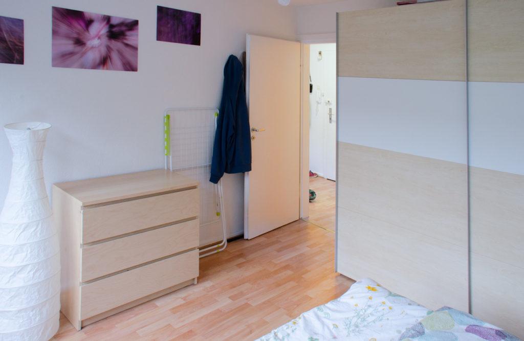 Günstige Wohnung Hannover Schlafzimmer 2