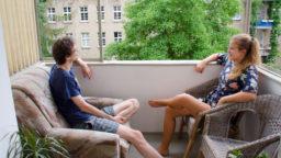 Wohnung Frugalisten Balkon