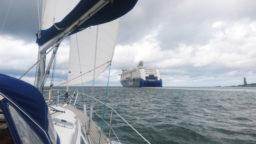 Ostsee Segeltörn unter Segeln Color Fantasy