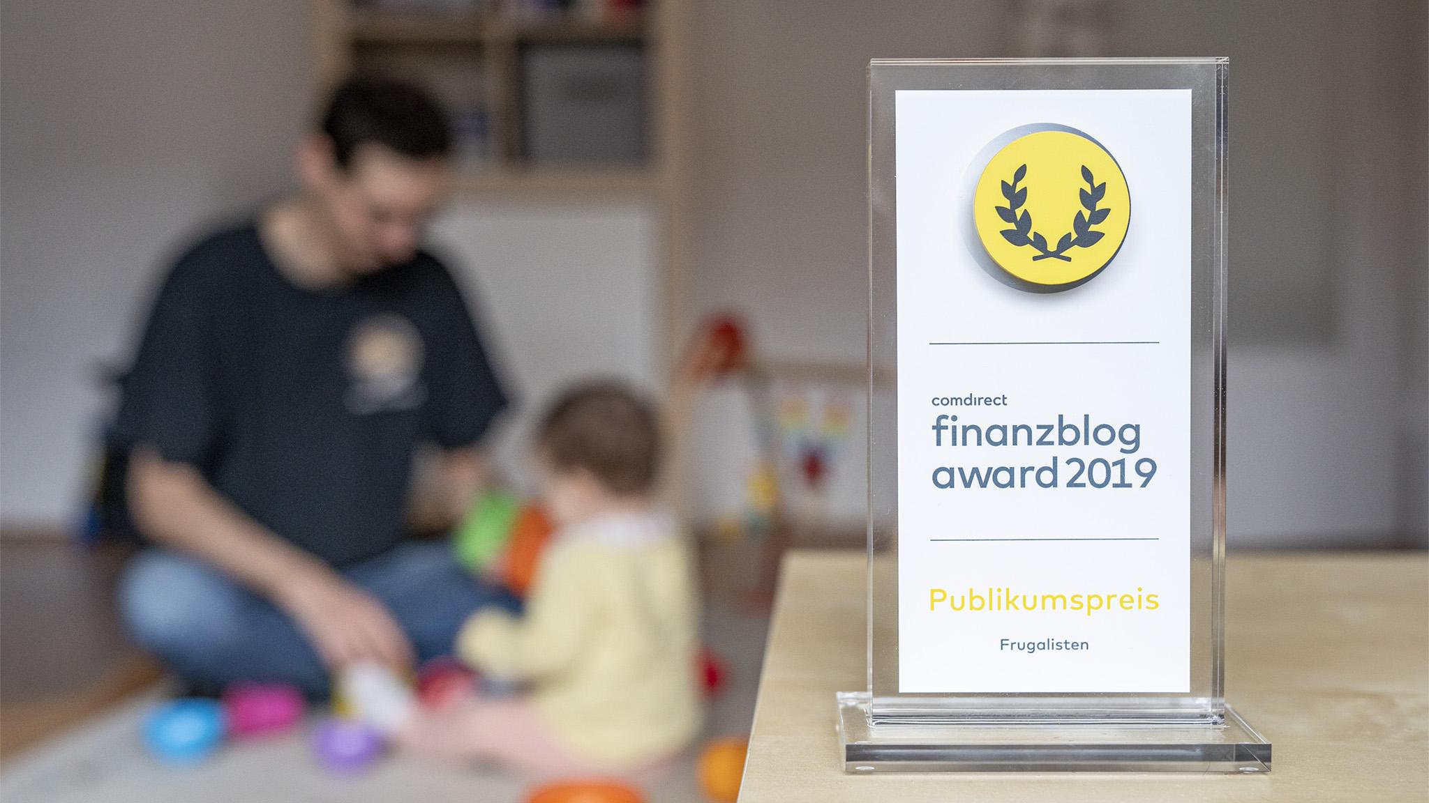 Freizeit Prioritäten comdirect finanzblog award 2019