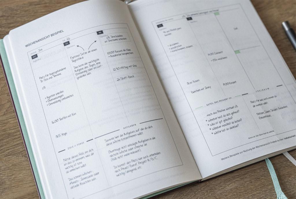 Olivers Klarheit Kalender Wochenkalender