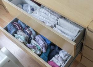 Babykleidung Kommode