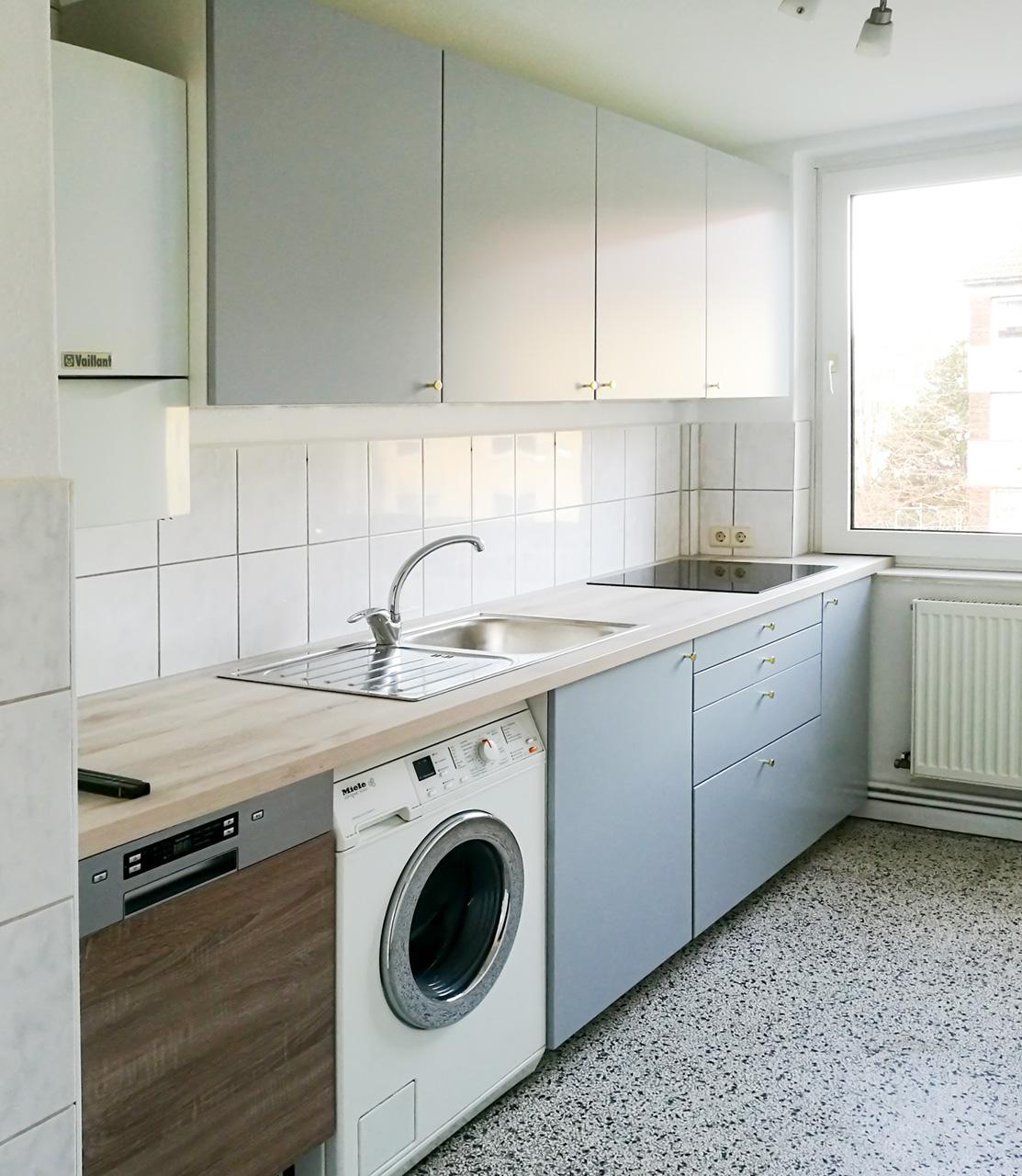 Neue Wohnung IKEA Küche